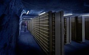 underground data vault