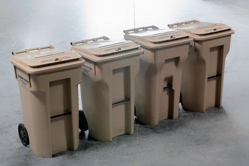 secure destruction bins